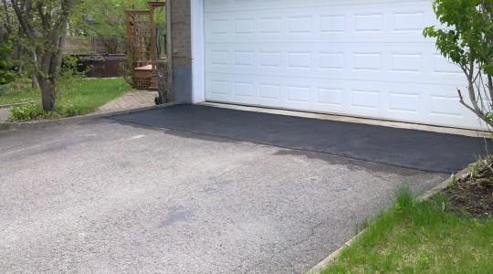 Ajustement porte de garages