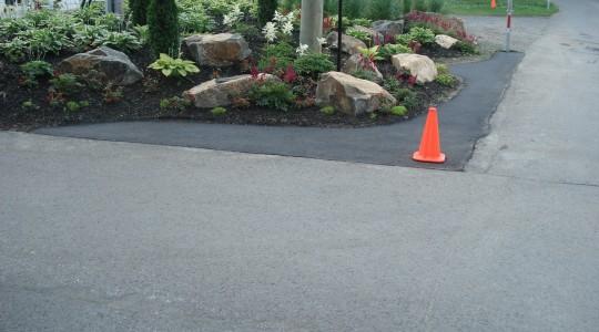 Réparation et aménagement d'asphalte
